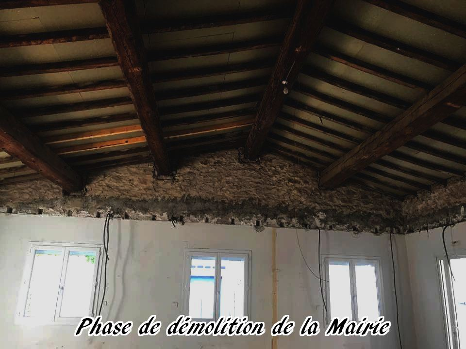 05 - 2017 - Travaux Gros Oeuvre De La Mairie
