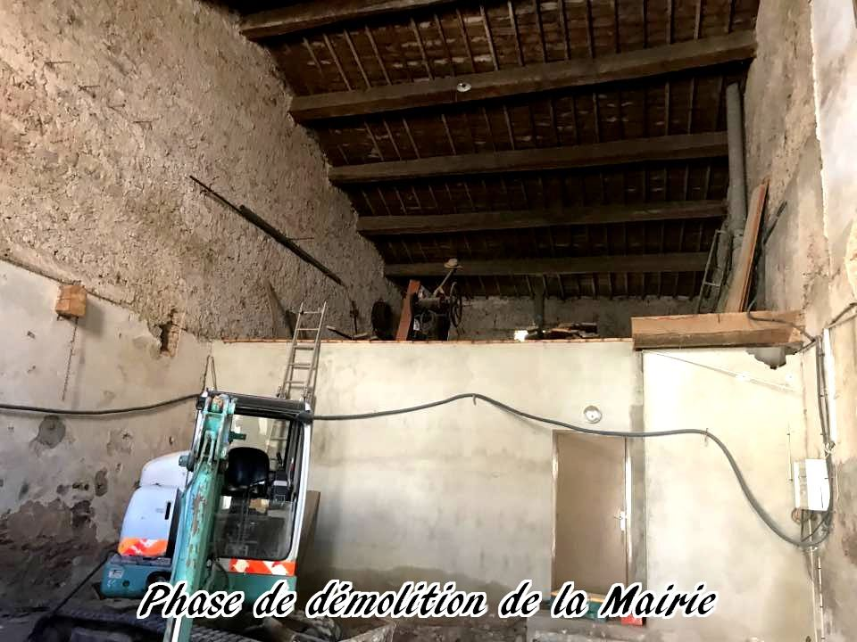 08 - 2017 - Travaux Gros Oeuvre De La Mairie