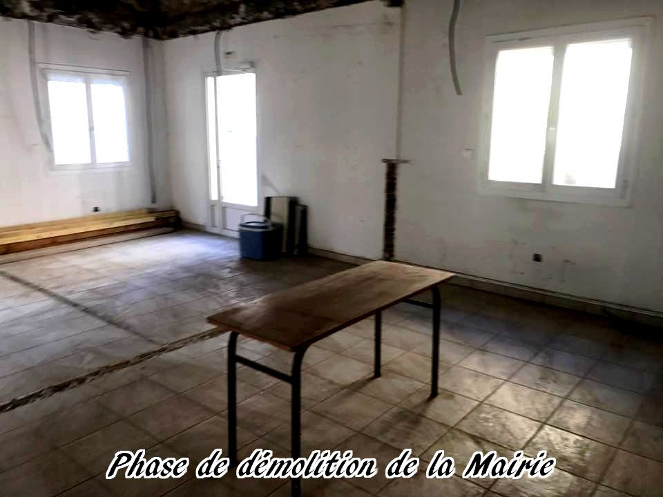 09 - 2017 - Travaux Gros Oeuvre De La Mairie