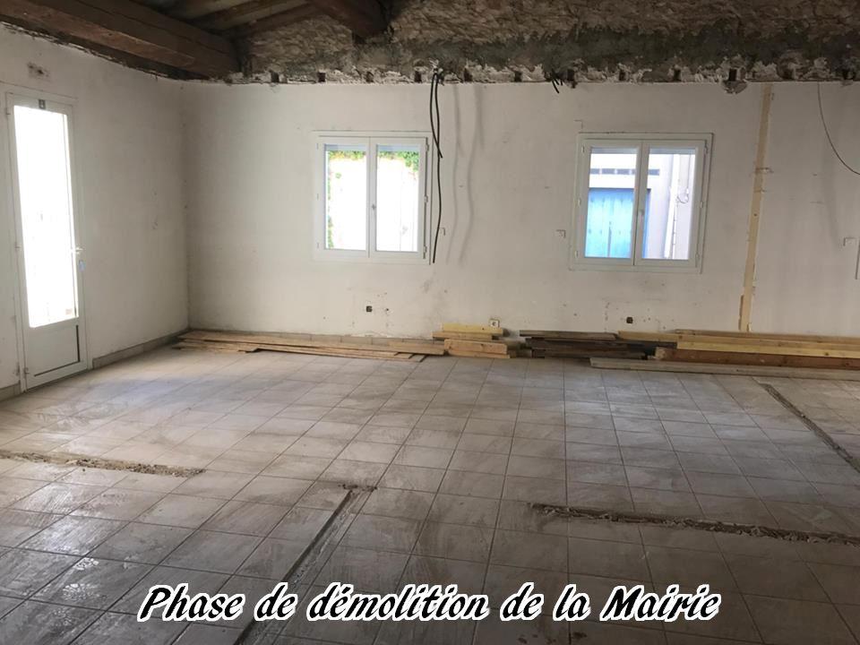 12 - 2017 - Travaux Gros Oeuvre De La Mairie