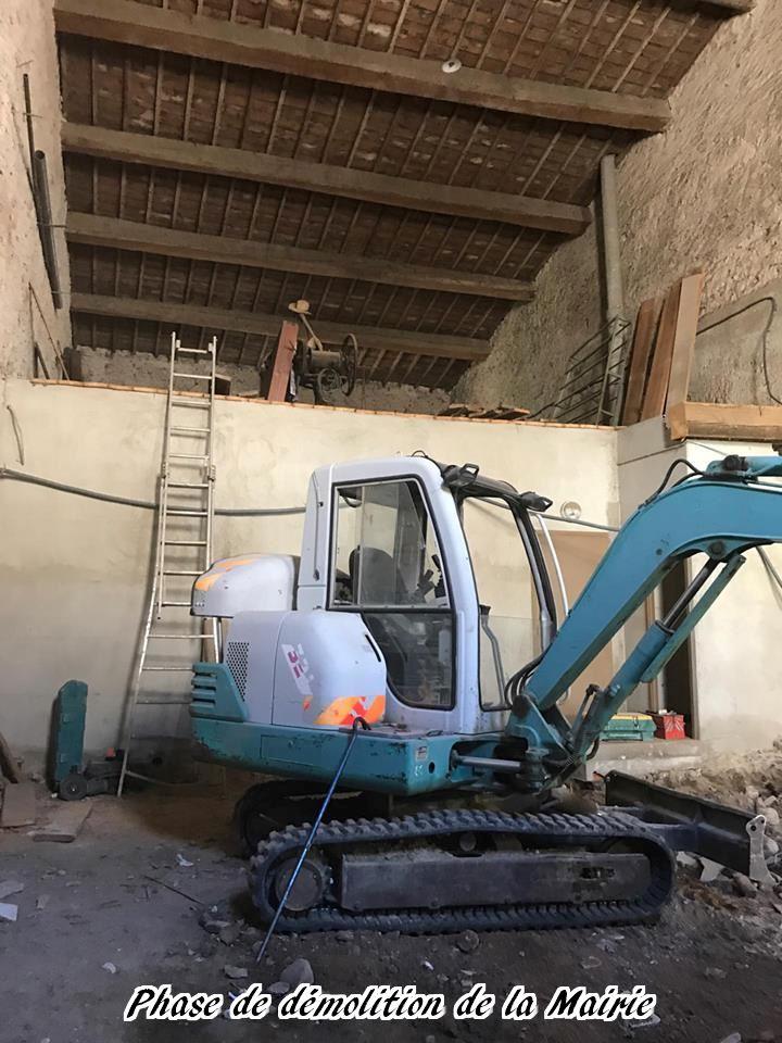 16 - 2017 - Travaux Gros Oeuvre De La Mairie