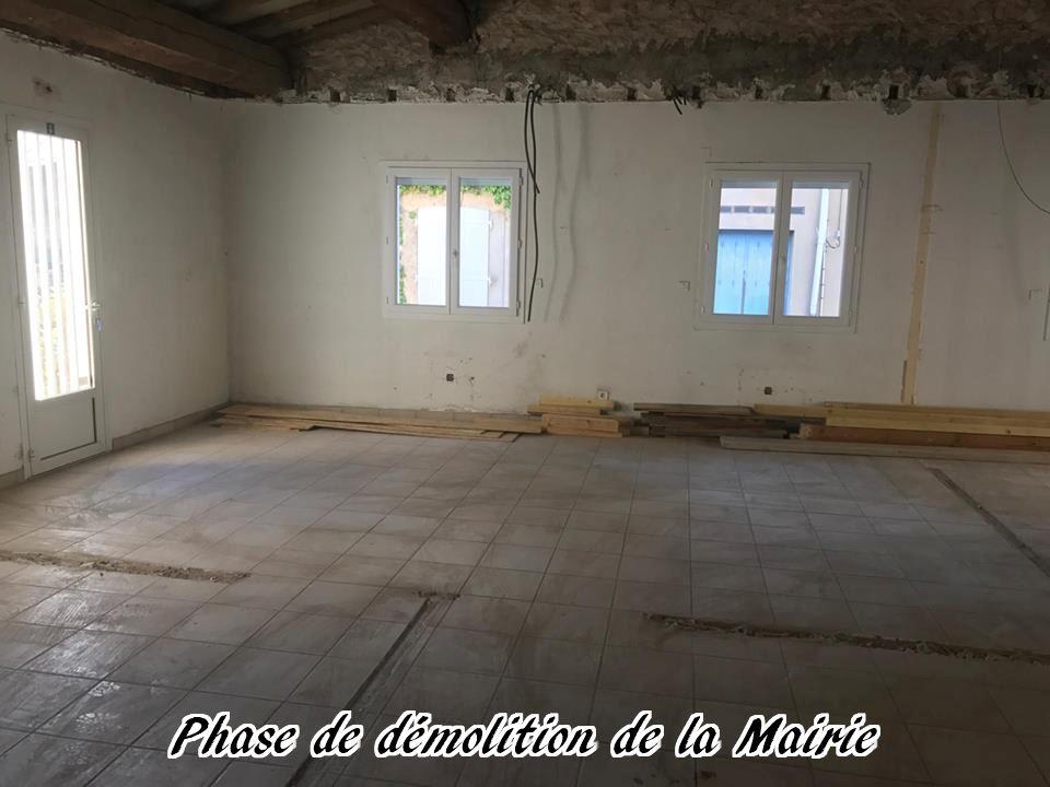 17 - 2017 - Travaux Gros Oeuvre De La Mairie
