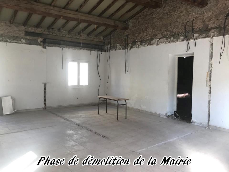 19 - 2017 - Travaux Gros Oeuvre De La Mairie
