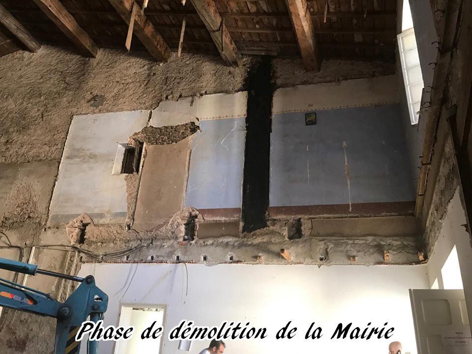 22 - 2017 - Travaux Gros Oeuvre De La Mairie