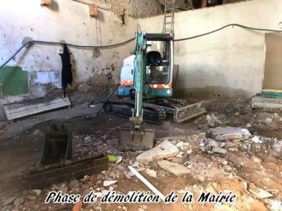 01 - 2017 - Travaux Gros Oeuvre De La Mairie