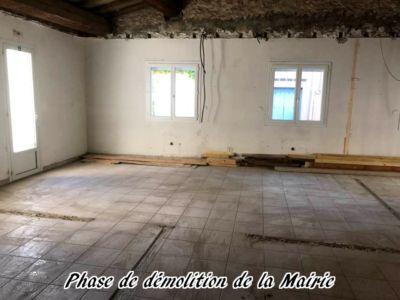 02 - 2017 - Travaux Gros Oeuvre De La Mairie