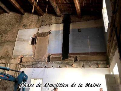 03 - 2017 - Travaux Gros Oeuvre De La Mairie