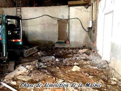 06 - 2017 - Travaux Gros Oeuvre De La Mairie