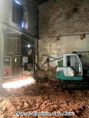 13 - 2017 - Travaux Gros Oeuvre De La Mairie