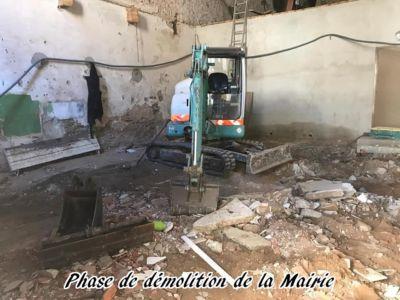 15 - 2017 - Travaux Gros Oeuvre De La Mairie