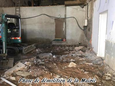 20 - 2017 - Travaux Gros Oeuvre De La Mairie