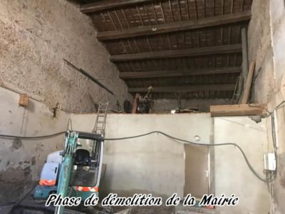 21 - 2017 - Travaux Gros Oeuvre De La Mairie