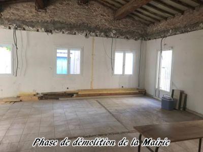 24 - 2017 - Travaux Gros Oeuvre De La Mairie