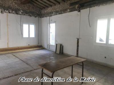 25 - 2017 - Travaux Gros Oeuvre De La Mairie